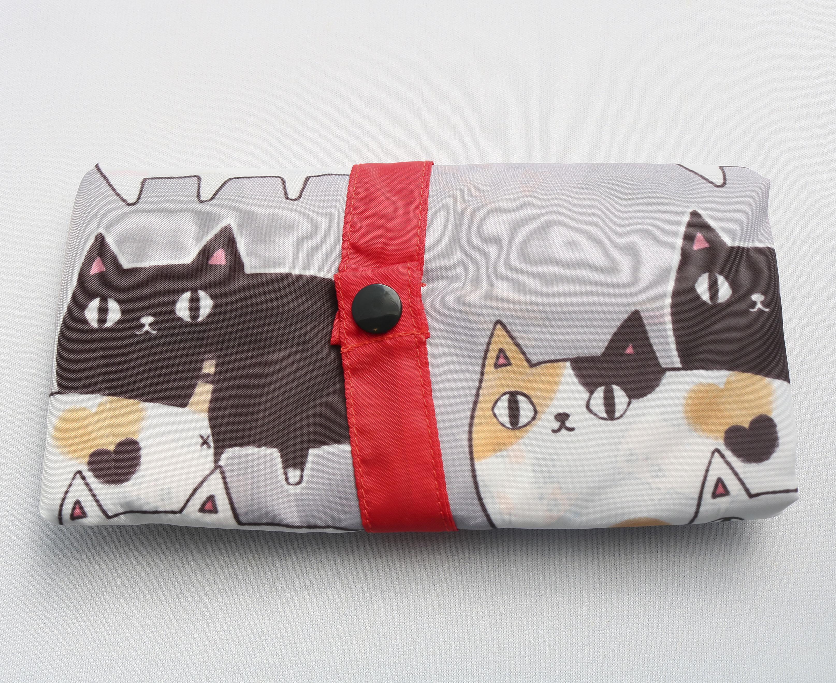 エコバッグ 猫雑貨 猫グッズ 秋田 かぎしっぽ
