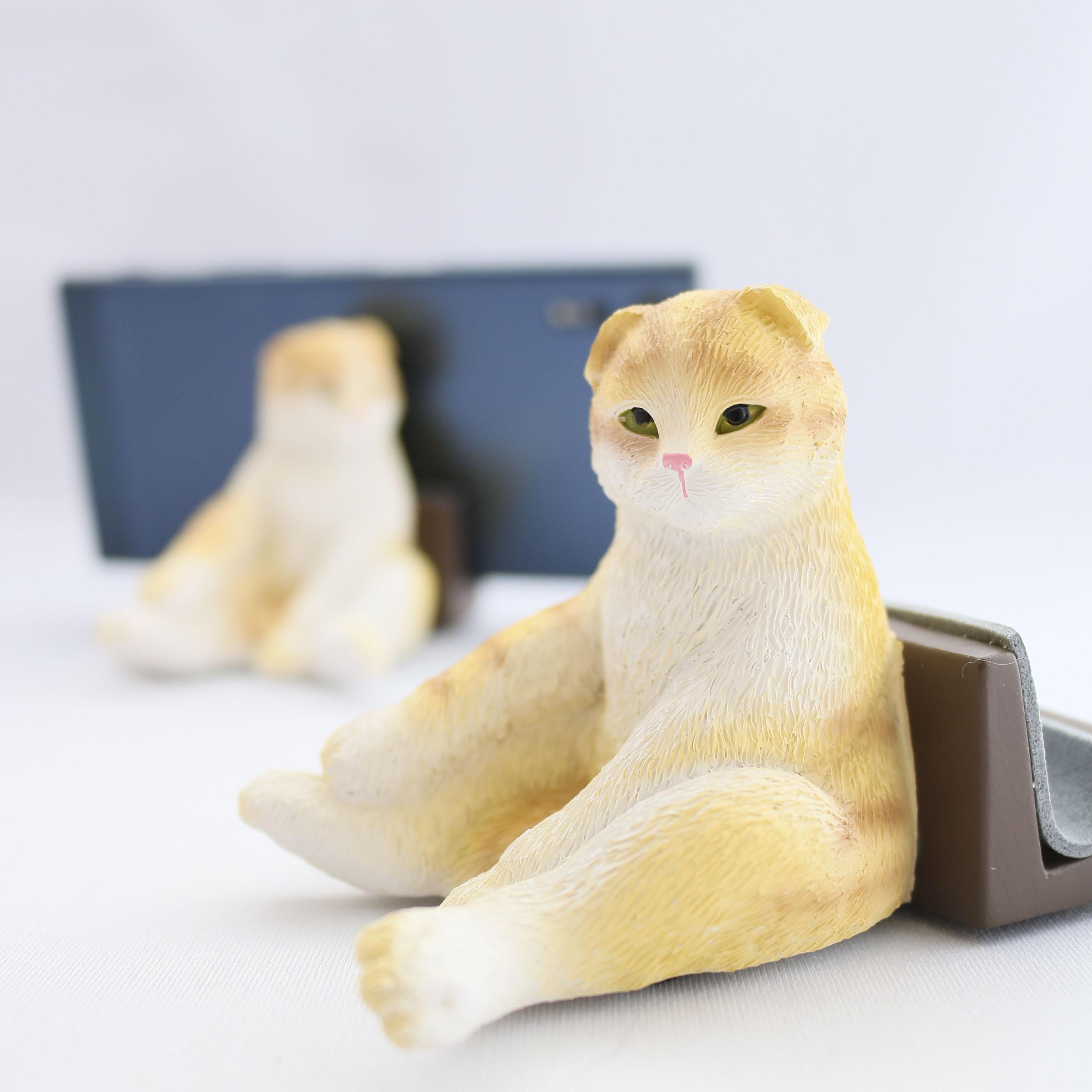 スマートフォンスタンド スマホスタンド 猫雑貨 猫グッズ 秋田 かぎしっぽ