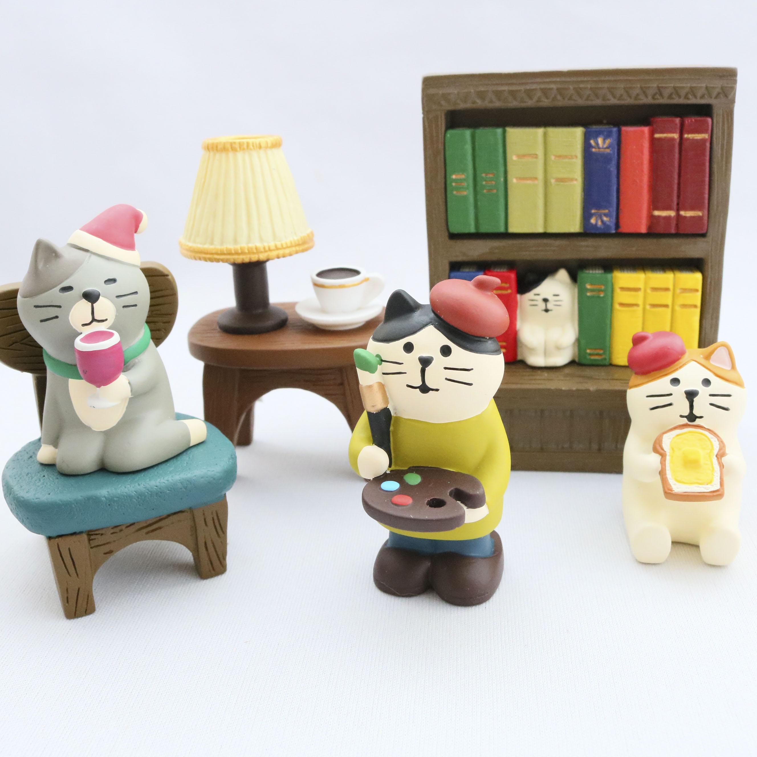 秋田 かぎしっぽ 猫雑貨 猫グッズ コンコンブル