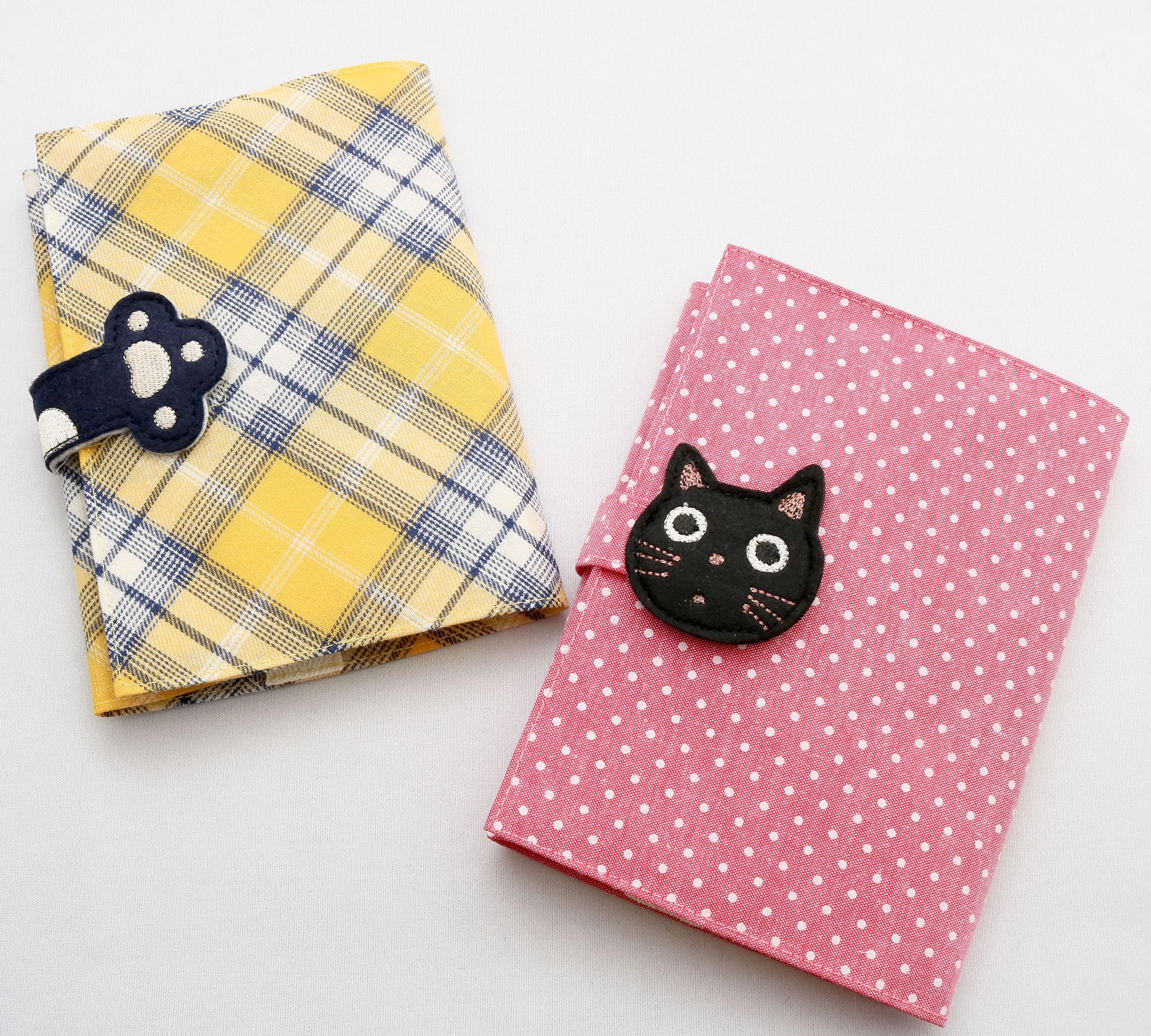猫雑貨 猫グッズ ブックカバー 秋田 かぎしっぽ