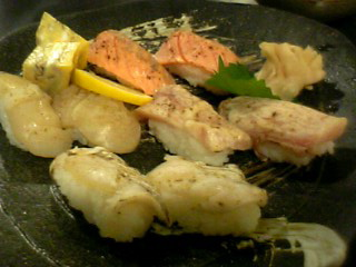あぶり寿司
