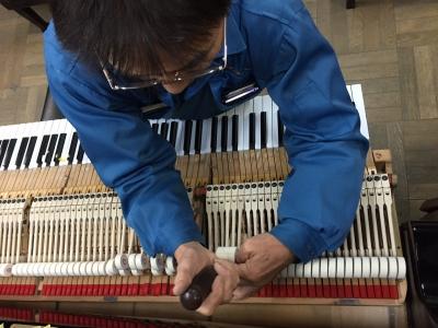 Steinway & Sons Model O の整音