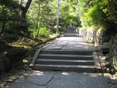 ここから塩竈神社