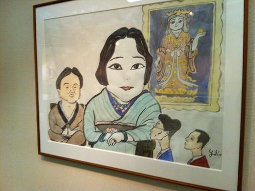 岡本一平の絵 | Higashi Ginza S...