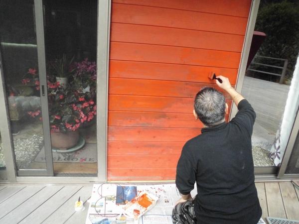 外壁塗り2