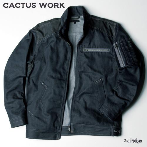 CW-0001 ワークジャケット 32:インディゴ