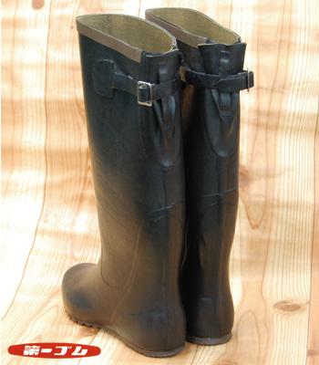 レトロ長靴 日本製 バック