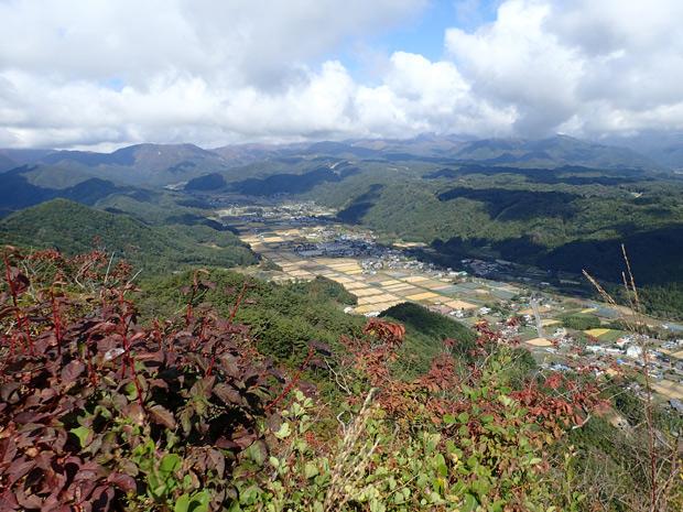戸神山からの風景