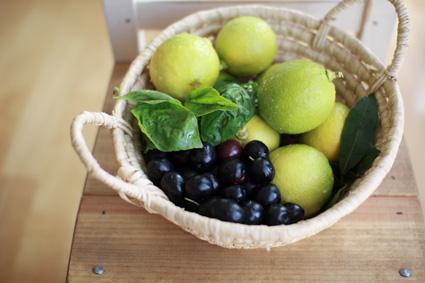 オリーブレモン月桂樹