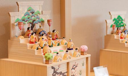 東田茂一さんの雛人形 naradoll higashida