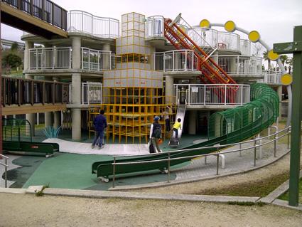 明石海峡公園 遊び場