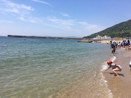 須磨海岸 潮干狩り2019
