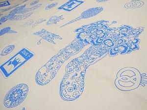 kuchibueのオリジナル布