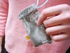 kuchibue布で作った小袋