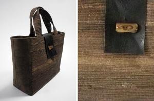 裂き織りバッグ2