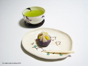 和菓子〜菖蒲1