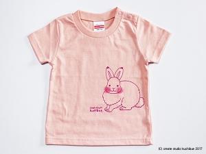 キッズTシャツ-うさぎ3