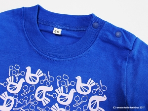 キッズTシャツ-トリ2