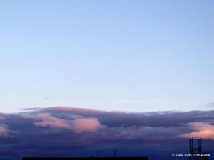垂れ籠める雲