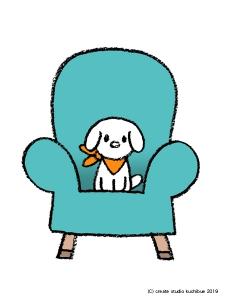 椅子とクー