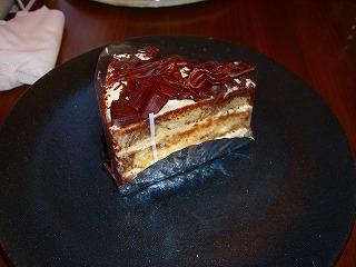 ケーキハーフセット750円