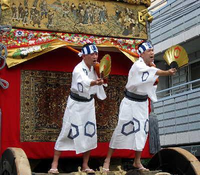 祇園祭、曳初め
