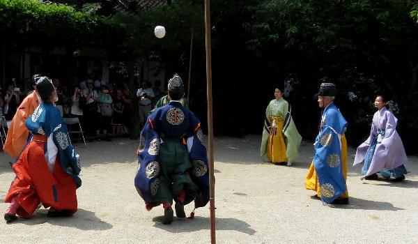 白峯神宮、蹴鞠