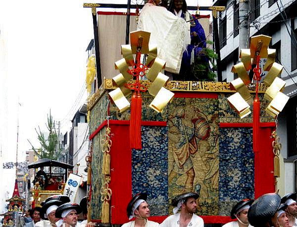 祇園祭、前祭山鉾巡行
