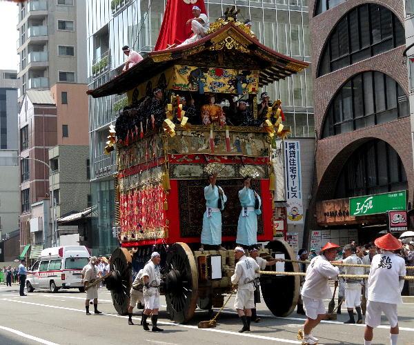 祇園祭、山鉾巡行