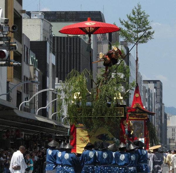 祇園祭、後祭山鉾巡行