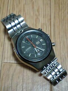 オークションで落札した時計
