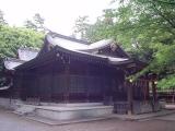 北野天神社 拝殿