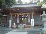 中氷川神社 拝殿