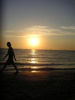 セントキルダの夕日