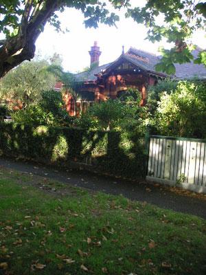 メルボルンの家
