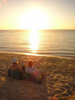 モーニントン半島の夕日