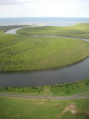 ケアンズの川