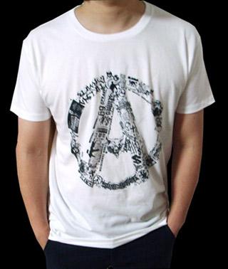 パンクaロゴtシャツ