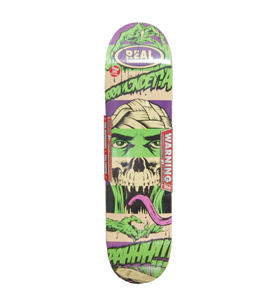 Real D*Face Skateboard Deck