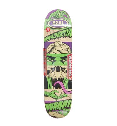 Real D*Face Skateboard Deck