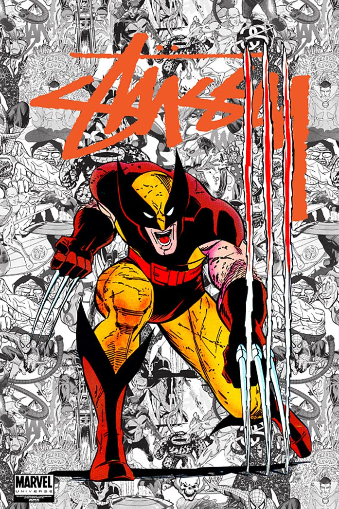 Stussy x Marvel Comics