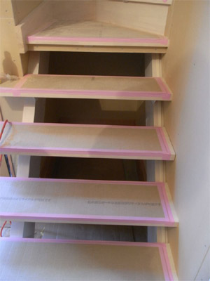ほたるライト付き階段