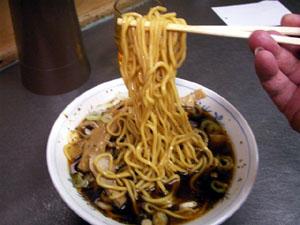 太麺でこしがありすぎ!最高だね。