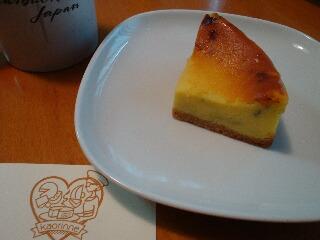 カオリーヌさんのブルーチーズのチーズケーキ
