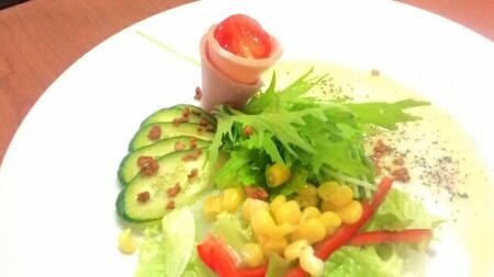 アクティブビーンズのサラダ