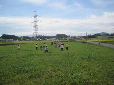 草原かけっこ