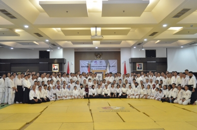 Tomohiro Mori Seminar Group photo