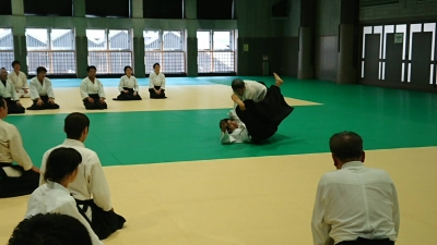森智洋合気道演武 Tomohiro Mori Aikido Demonstration