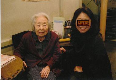 松本ユリさんとLALA
