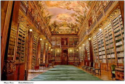 プラハ図書館